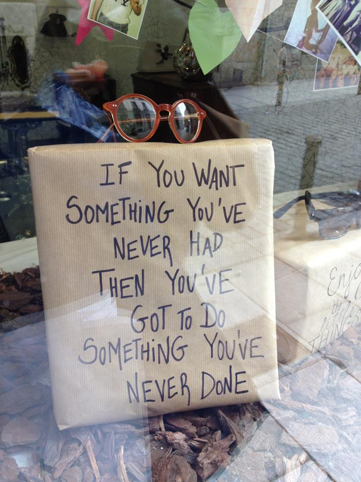 Madrid Schaufenster_If you want something